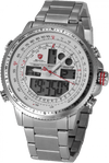 Winghead SHARK Sport Watch Nickel/White