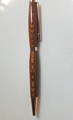 Copper Lacewood Pen
