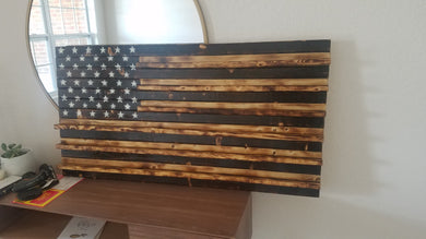 Bailey Custom Order - Coin Holder Subdued American Flag