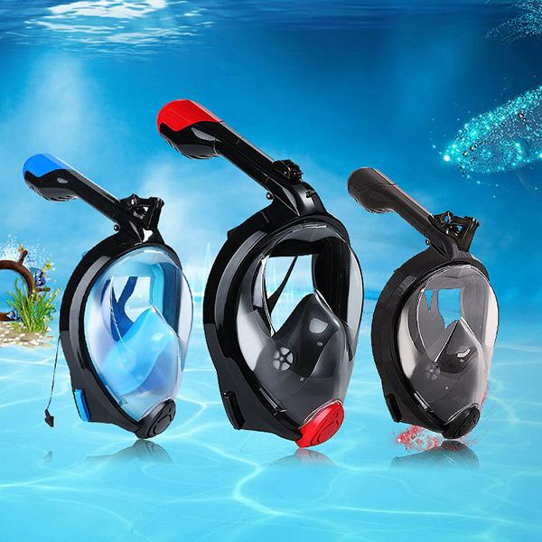 180° Sea View Full Face Snorkel Mask-Outdoors & Sports-Prime4Choice.com-