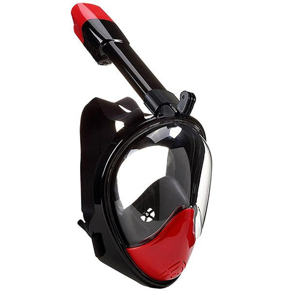 180° Sea View Full Face Snorkel Mask-Outdoors & Sports-Prime4Choice.com-Red-