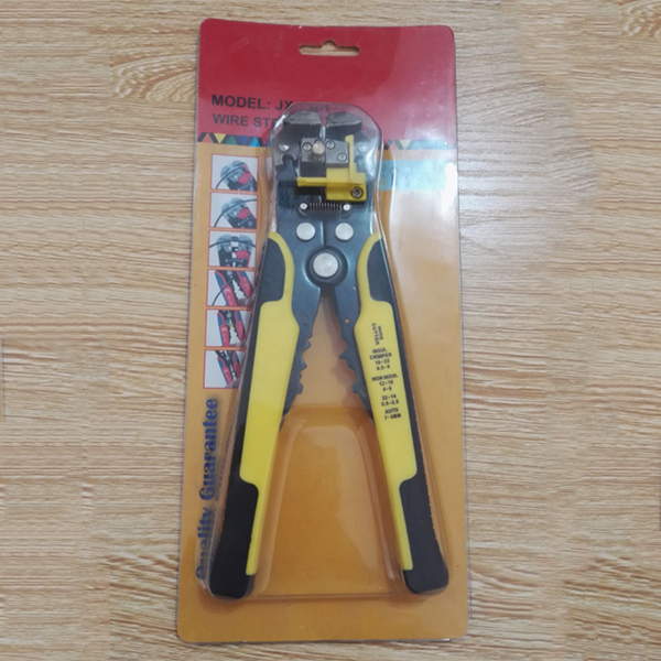 3-in-1 Automatic Wire Stripper Crimping Pliers-Home Tools-Prime4Choice.com-Yellow-