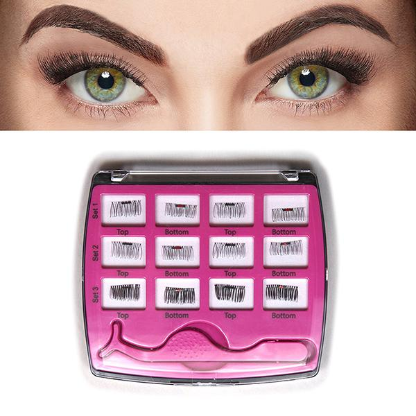 3 Second Lash Magnetic Eyelash Accents ( 6 Pairs)-Beauty & Fashion-Prime4Choice.com-