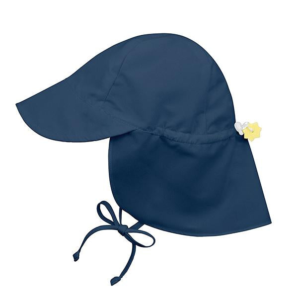 Baby Flap Sun Protection Swim Hat-Hats-Prime4Choice.com-Navy-