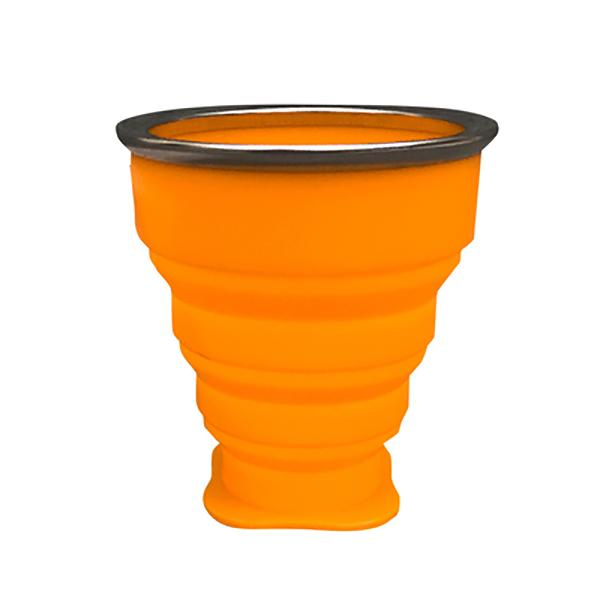 Collapsible Zip Cups-Cups-Prime4Choice.com-Orange-