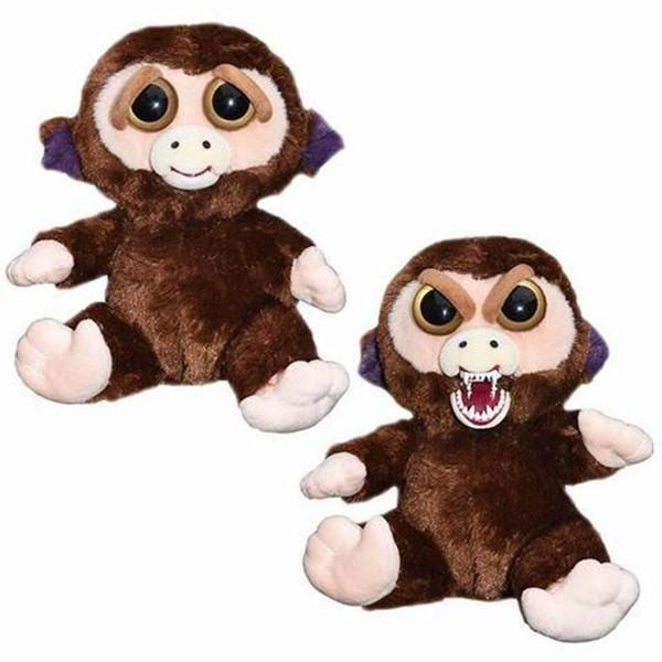 Feisty Funny Expression Pets Plush Toy-Toys-Prime4Choice.com-Monkey-
