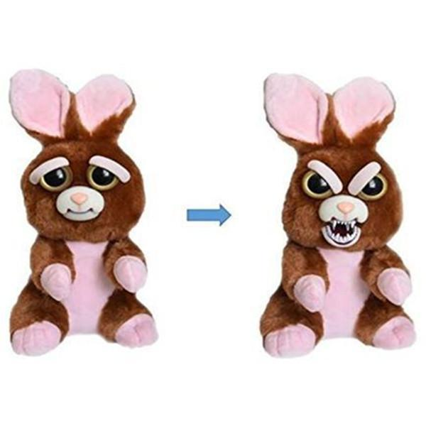 Feisty Funny Expression Pets Plush Toy-Toys-Prime4Choice.com-Rabbit-