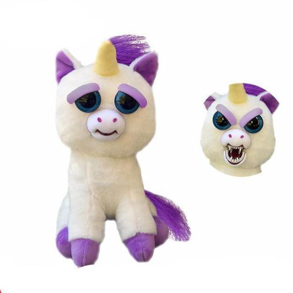 Feisty Funny Expression Pets Plush Toy-Toys-Prime4Choice.com-Unicorn-
