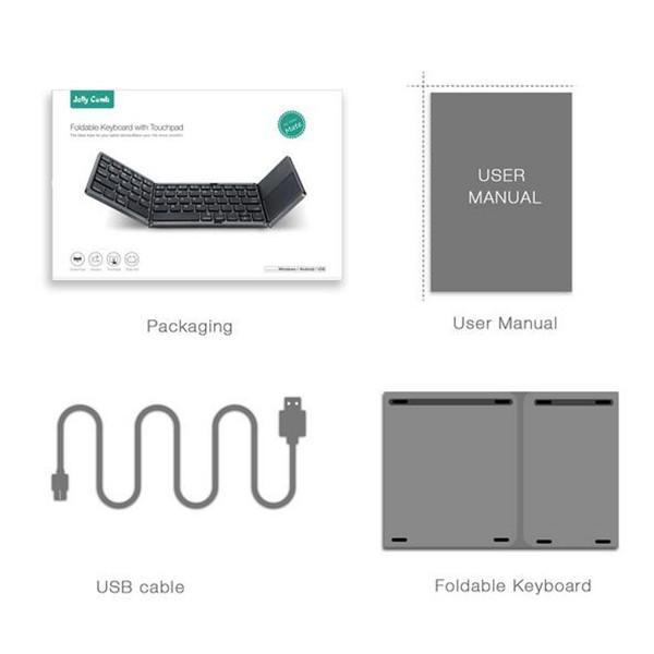 Folding Bluetooth Keyboard-Computer accessories-Prime4Choice.com-