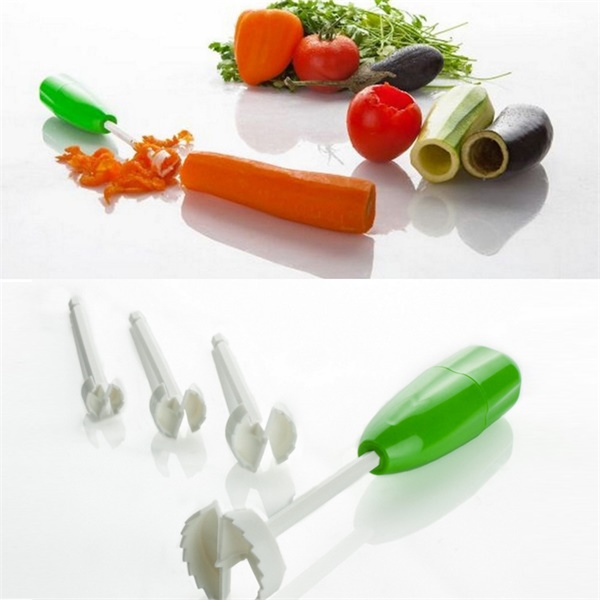 Head Vegetable Spiral Cutter Vege Drill-Kitchen & Dining-Prime4Choice.com-
