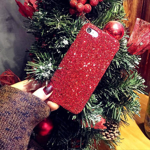 iPhone 7 Colorful Shiny Powder Protection Case-Christmas Phone Accessories-Prime4Choice.com-