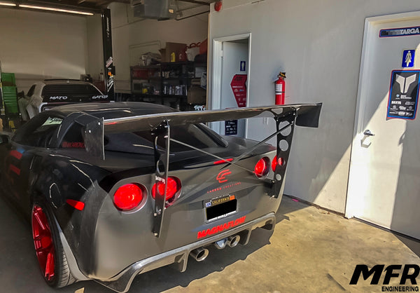 Corvette C6 Chassis Mounted Wing - MFR Engineering