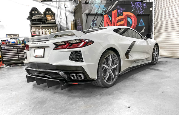 Chevrolet Corvette C8 Rear Diffuser