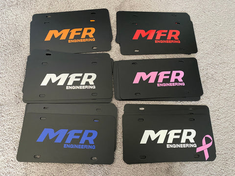 MFR Engineering License Plate Frames