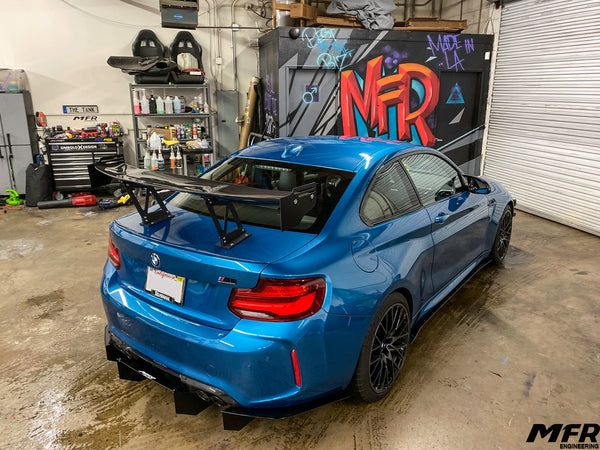 BMW M2 Competition Rear Diffuser