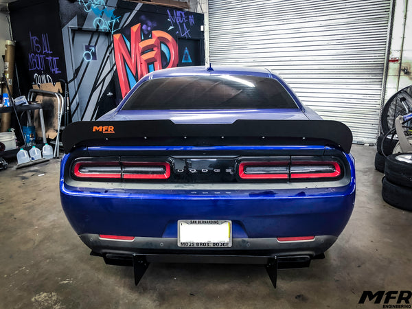 2019 Dodge Challenger Hellcat Redeye Wickerbill - MFR Engineering