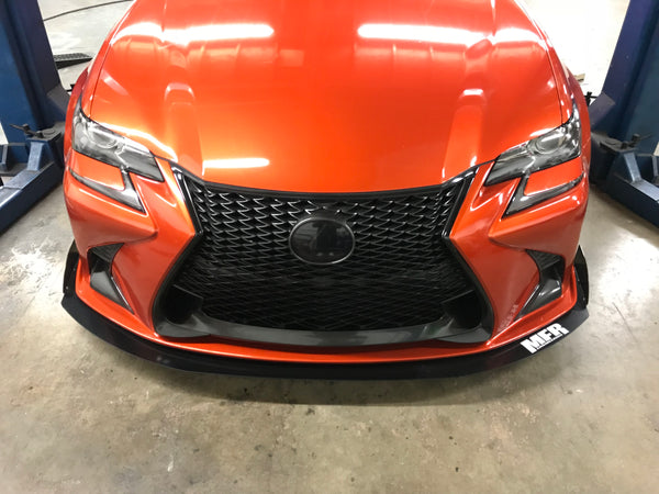 Lexus GS 350 Front Splitter - MFR Engineering