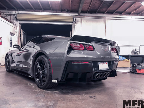 Chevrolet Corvette C7 Rear Diffuser - MFR Engineering
