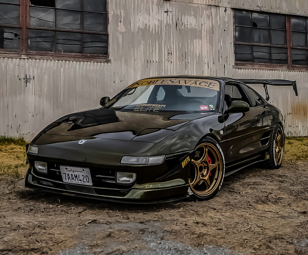 Toyota MR2 (2nd gen) Chassis Mounted Front Splitter - MFR Engineering