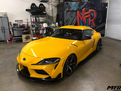 Toyota Supra A90 Front Splitter