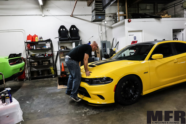 Dodge Charger Chassis Mounted Front Splitter (7th gen) - MFR Engineering