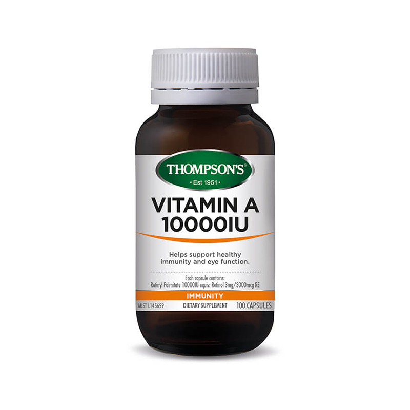 Thompsons Vitamin A 10000iu