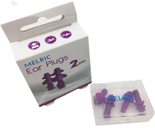 Melric Ear Plugs - Silicone Aqua
