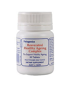 Metagenics Resveratrol Healthy Ageing Complex
