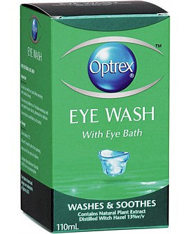 Optrex Eye Wash with Eye Bath
