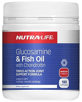 Nutralife Glucosamine & Fish Oil With Chondroitin