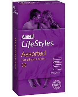 Ansell Lifestyles Condom Assorted