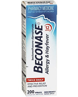 Beconase Aqueous Nasal Spray 50mcg
