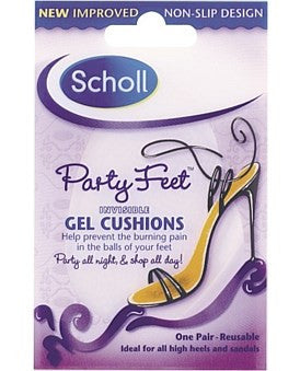 Scholl Party Feet Invisible No Slip Gel Cushions