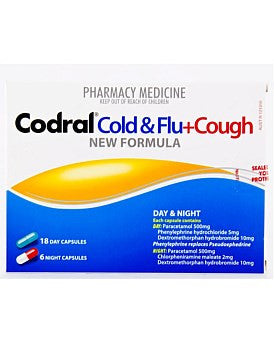 Codral Cold Flu & Cough Day & Night