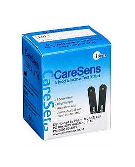 CareSens Blood Glucose Test