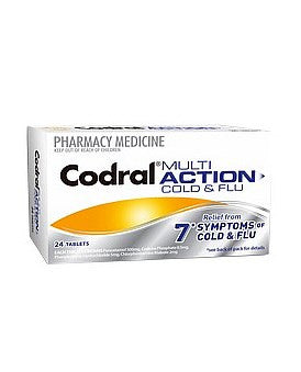 Codral Multi Action Cold And Flu
