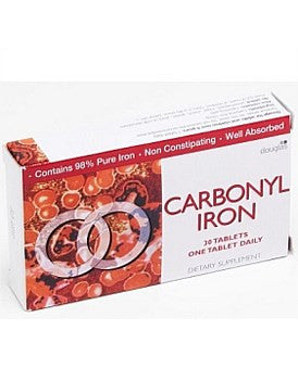 Carbonyl Iron Tablets 18mg