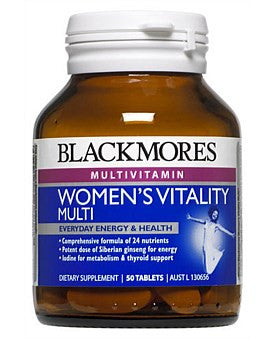 Blackmores Womens Vitality Multi