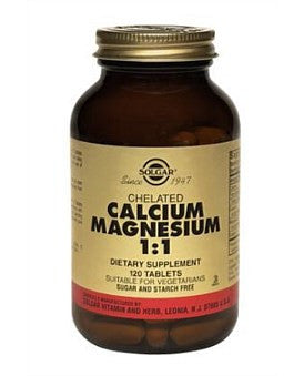 Solgar Chelated Calcium Magnesium 1:1