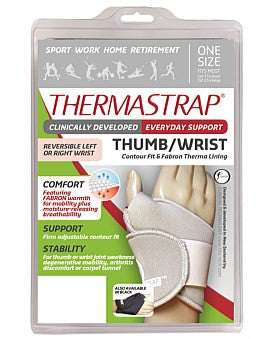 Thermastrap Thumb Wrist Black Multi