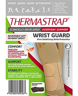 Thermastrap Wrist Guard Black