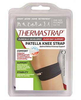 Thermastrap Patella Strap Black