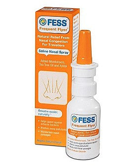 Fess Frequent Flyer Nasal Saline Spray