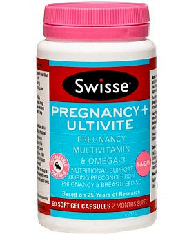 Swisse Pregnancy + Ultivite