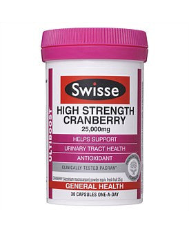 Swisse Ultiboost High Strength Cranberry