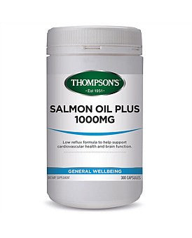 Thompson's Salmon Oil Low Reflux 1000mg