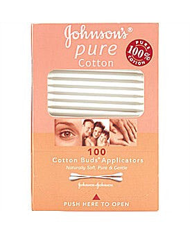 Johnsons and Johnsons Pure Cotton