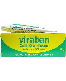 Viraban 5% Cold Sore Cream