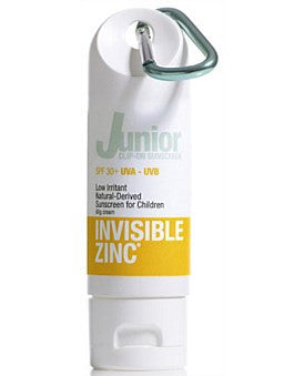 Invisible Zinc Junior Clip On SPF50 Sunscreen