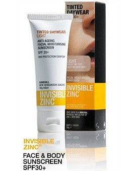 Invisible Zinc Tinted Daywear SPF30+ Light